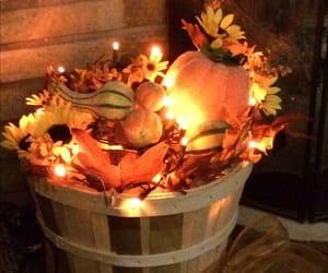 fall, autumn, and pumpkin image