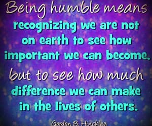 determined, humble, and kindness image