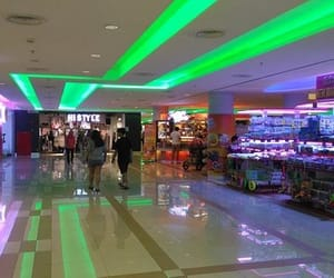 aesthetic, green, and mall image