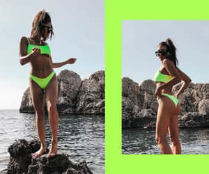 blogger, fashion, and beach style image
