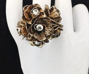 costume jewelry, vintage jewelry, and vintage ring image