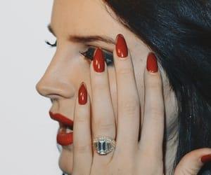 lana del rey and nails image