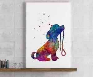 animal art, kids bedroom, and wall art image