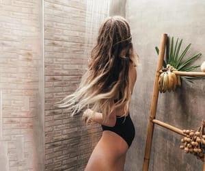 hair, summer, and fashion image