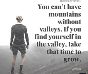 encouragement, growth, and valley image