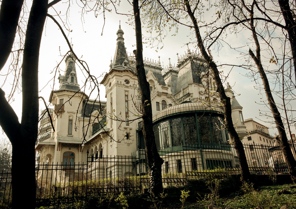 architecture, bucharest, and romania image