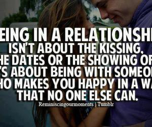 couple, happy, and kissing image