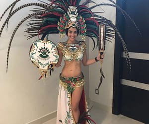 aztec, fashion, and miss mexico image