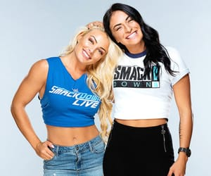 wwe, mandy rose, and sonya deville image
