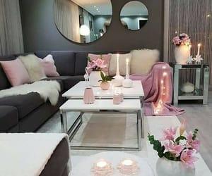 grey, home decor, and lights image