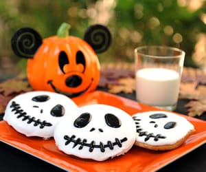 Halloween, Cookies, and disney image