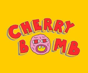 cherry bomb, tyler the creator, and cherry image