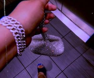 diamante, fashion, and glam image