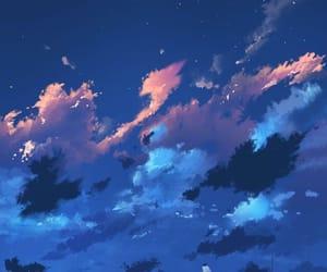 sky, wallpaper, and anime image