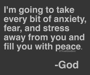 god, anxiety, and stress image