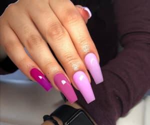 beauty, perfect, and long nails image