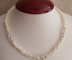 etsy, gift for her, and rice pearl image