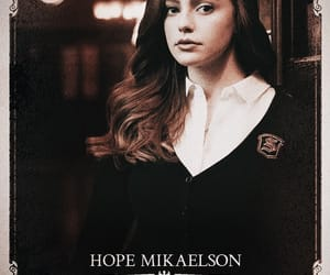 mikaelson family, hope mikaelson, and the salvatore school image