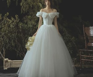off-the-shoulder, a-line princess, and floor-length long image