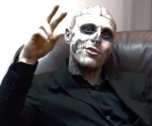 Darkness and zombie boy image