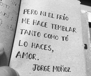 amor, frases, and te quiero image