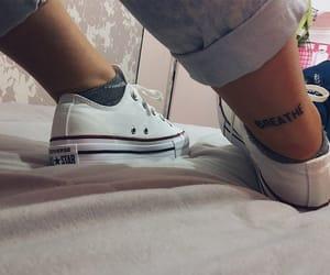 converse, moda, and tatto image