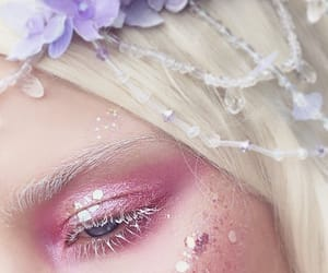 elf, glitter, and makeup image