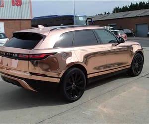 car, range, and rose gold image