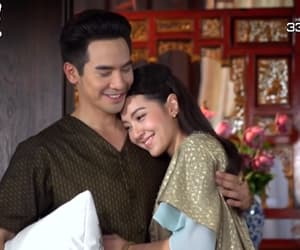 couple, thai, and thailand image