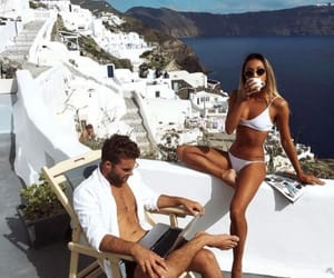 couple, Greece, and goals image