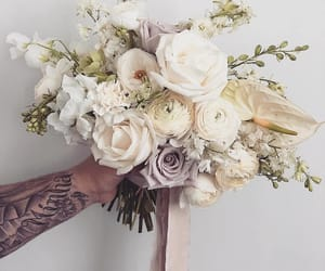 flowers, roses, and buqet image