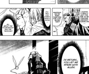 allen, crossing, and d.gray-man image