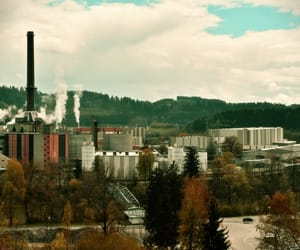 Fabrik, factory, and gebäude image