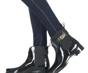 boots, heels, and tommy hilfiger image