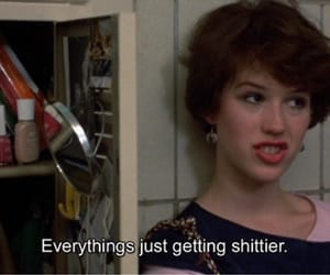 quotes, sixteen candles, and shit image
