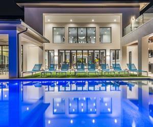 florida, pool, and orlando image