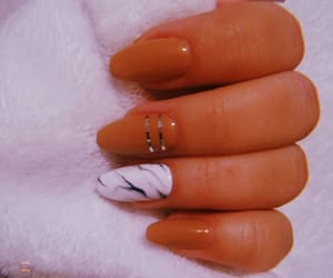fall, marble, and nails image