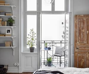 balcony, bedroom, and home image