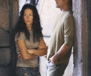evangeline lilly, Josh Holloway, and lost image