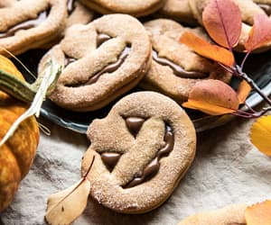 chocolate, Cookies, and fall image