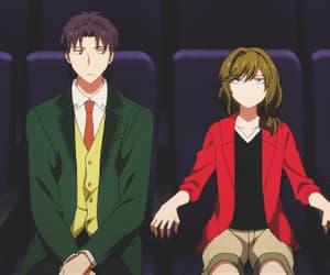 anime, funny, and gekkan shoujo nozaki-kun image