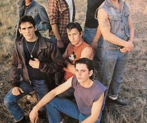 the outsiders, 80s, and boys image