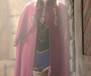 once upon a time, princess anna, and elizabeth lail image