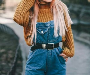 girl, fashion, and indie image