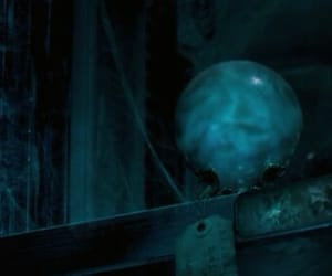 ball, blue, and cobweb image