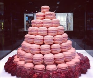 food, pink, and dessert image