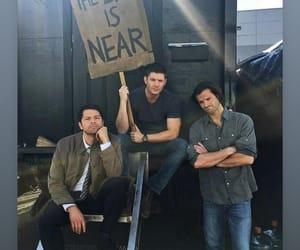ackles, supernatural, and collins image