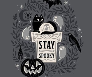 Halloween, spooky, and art image