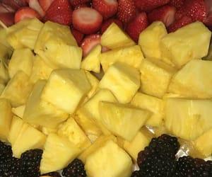 blackberry, fruit, and fruit salad image