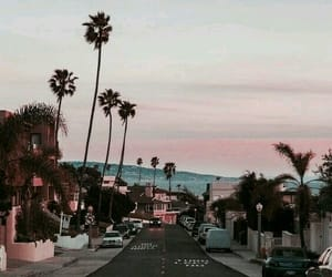sunset, travel, and california image